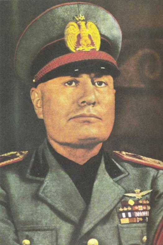 Benito Amilcare Andrea Mussolini (29 Juli 1883 – 28 April 1945 ...